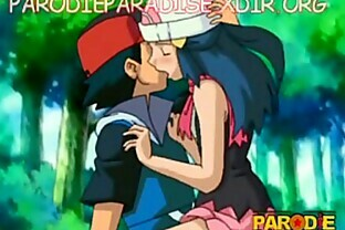 Ash se culea a Dawn (Ash fucks Dawn)