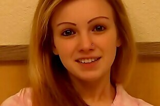 18 Year Old Kristin From Exploited Teens Gets to Swallow