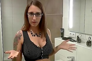 Taboo sex in the bathroom on mulemax.com