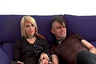Selling my girlfriend! The first another man's cock she tastes ends up having a true orgasm