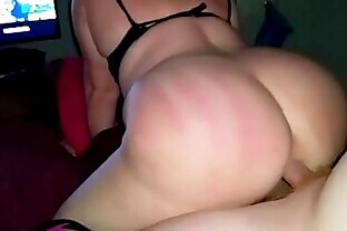 Spanked PAWG gets anal