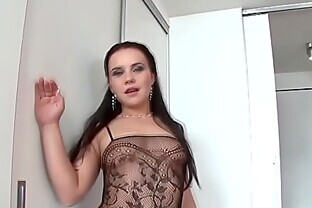 Anal toying ho facialized