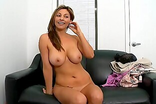 Big tits MILF latina first time facial 2.2