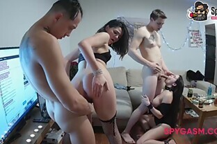 Dirty party with hard sex and deep oral