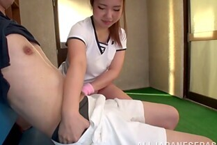 naughty japanese teen asslicks and give awesome blowjob