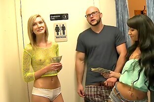 Goddess Blonde Goes Hardcore With A Guy Just For Money