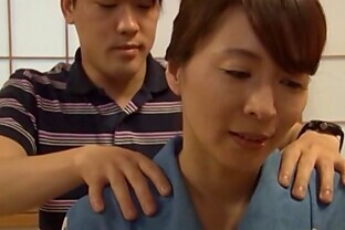 Wild Mature Babe Yuuki Itano is Drilled Doggy style