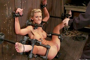 Pornstar Phoenix Marie gets toyed and tortured in BDSM porn video