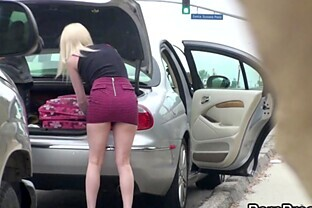Amazing Public Sex With The Hot Blonde Cherry Torn