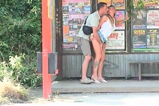Hot Public Sex With A Sexy Blonde Teen