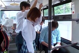 Stunning Asian Cowgirl In Uniform Having Public Sex In A Bus