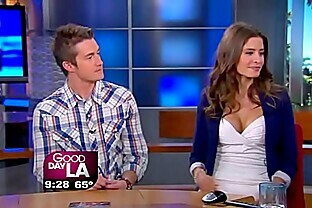 Mercedes masohn oops see her white pantie live tv show upskirt