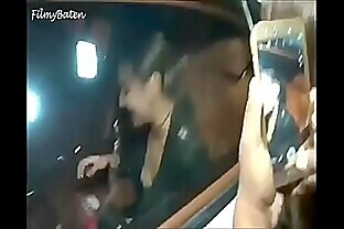Sonakshi Sinha s OOPS MOMENT while sitting in the car boobs  Cleavage