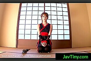 [JavTiny.Com] Cosplay Japanese Girl Play With Her Sword