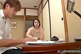 Japanese mom has her huge tits groped before fucking Watch the full video from here  http://cuon.io/URyqU