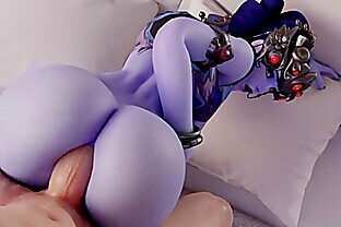 Widowmaker The Anal Queen - Ass Fucked Compilation All New Scenes 2018 (With Sound)