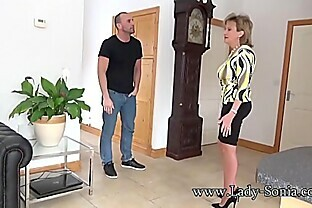Spanish Fly In Lady Sonia s Tea Gets Her Horny As Fuck