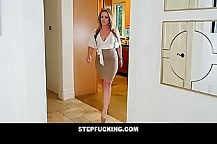 Blonde daughter caught fucking mom s boyfriend-STEPFUCKING.COM