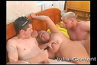 At age 52, her first threesome