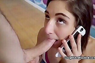 Assy Abella cheats with voyeur while on phone