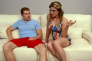 Family Therapy - Cory Chase Sexy Mother Threesome With Sons